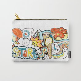 Kawaii Doodle - Just Start Carry-All Pouch