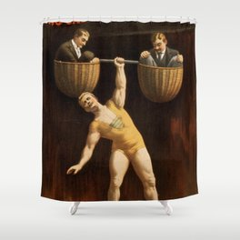 The Sandow Shower Curtain