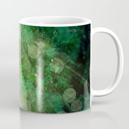 Abstract illustration of fairy fly in the forest Coffee Mug