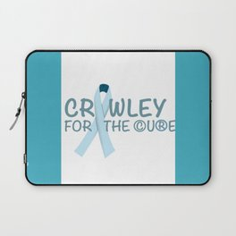 Crawley for the Cure Laptop Sleeve
