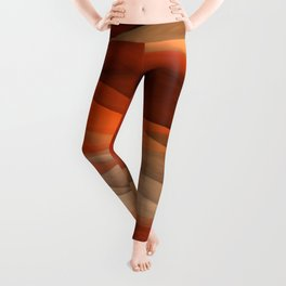 """Sea of sand and caramel waves"" Leggings"