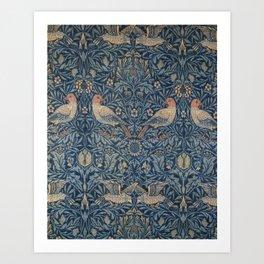 William Morris Bird Pattern Kunstdrucke
