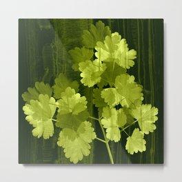 luminous leaves Metal Print