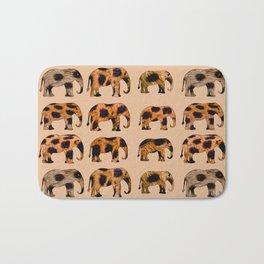 CHEETAH ELEPHANTS Bath Mat