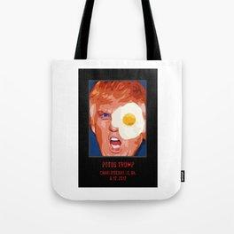 POTUS Trump in history. Tote Bag