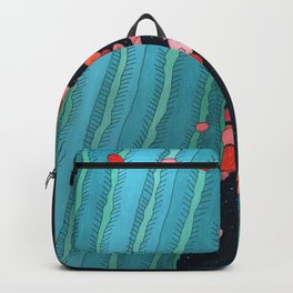Midnight Cactus Conversations Backpack