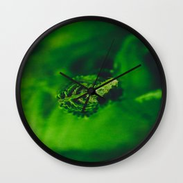Fiddle Head Wall Clock