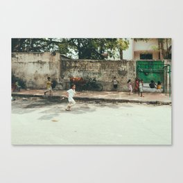 Kids in India Canvas Print