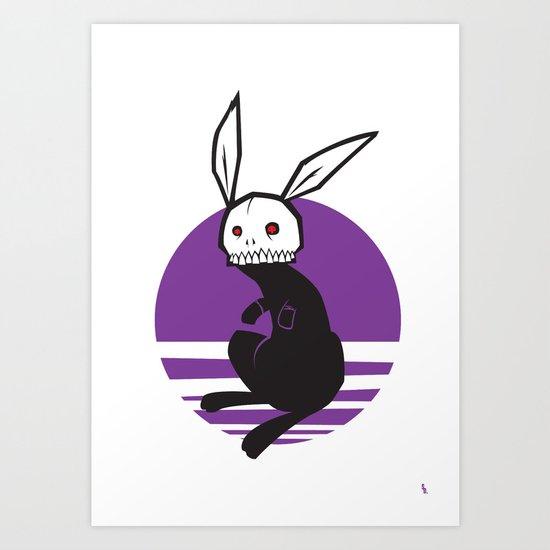 Hare Bone Art Print