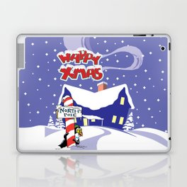 Christmas in North Pole Laptop & iPad Skin