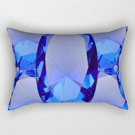 SEPTEMBER BLUE SAPPHIRE GEMS BIRTHSTONES Rectangular Pillow