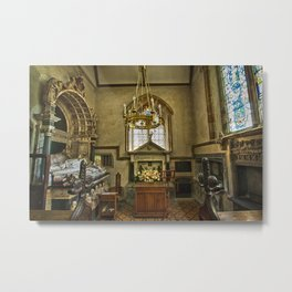 St Margaret of Antioch Isfield Metal Print