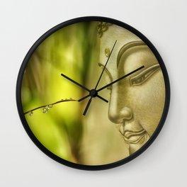 Buddha (3) Wall Clock