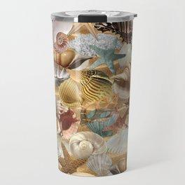 Sea Shell Mania Travel Mug
