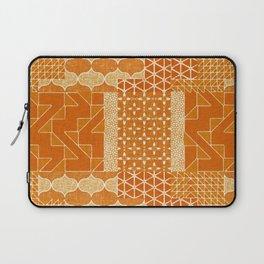 Masala Quilt - marmalade Laptop Sleeve