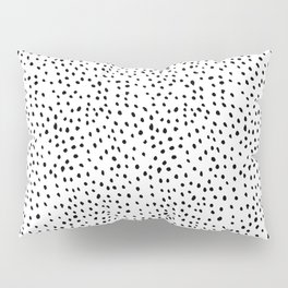 Snowstorm Black and White Pillow Sham