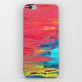 Turquoise Sunset iPhone Skin