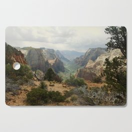 Above Zion Canyon Cutting Board