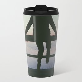 alone to your thoughts. Travel Mug