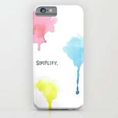 Simplify. iPhone 6s Slim Case