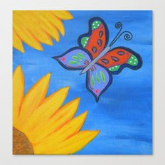 Butterfly Banquet Canvas Print