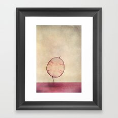 miss silver Framed Art Print