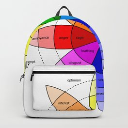 Love and Emotion Valentines Color Wheel Backpack