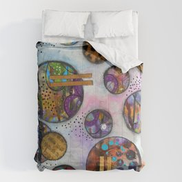 Original Abstract - The Markie Comforters