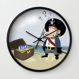 Where is my gold? Wall Clock