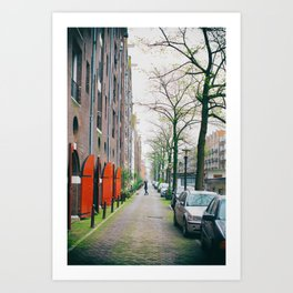 Amsterdam Walk Art Print