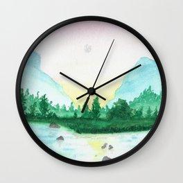 Just A Little Longer Wall Clock
