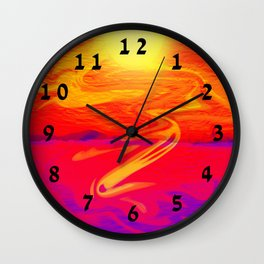 San Francisco's True Colors Wall Clock