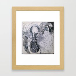 yin Framed Art Print