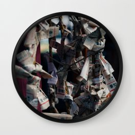 Omikuji Wall Clock