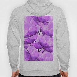 Violet Anemones Spring Atmosphere #decor #society6 #buyart Hoody