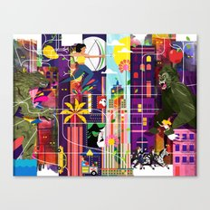 East to East Canvas Print