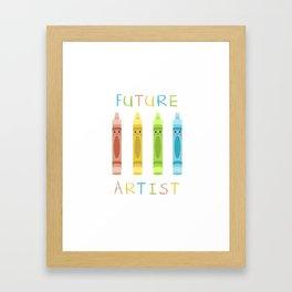 Future Artist Framed Art Print