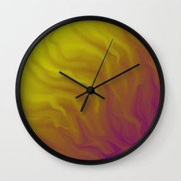 CrepuscularFluid Wall Clock