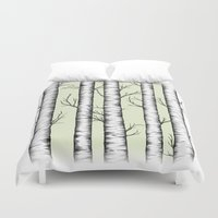wonderland Duvet Covers featuring Wonderland by Barlena