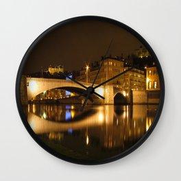The Bonaparte bridge Wall Clock