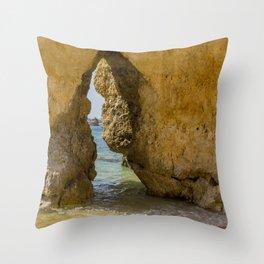 Seaside 02 Throw Pillow
