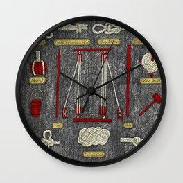 Seaman knots Wall Clock
