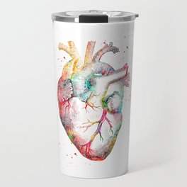 Human Heart Travel Mug