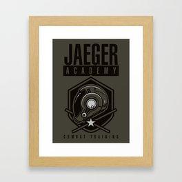 Jaeger Academy Framed Art Print