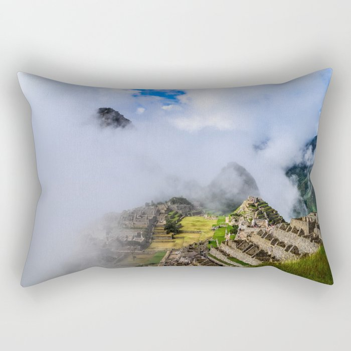 Machu Picchu Rectangular Pillow