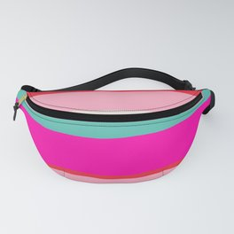 Candy Stripe Christmas Fanny Pack