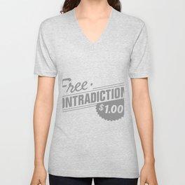 FREE CONTRADICTIONS Unisex V-Neck