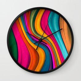 Lov Colors Wall Clock