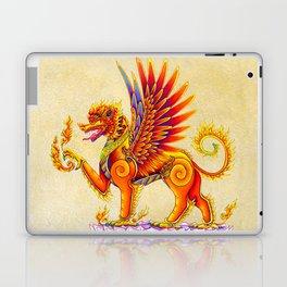 Singha Winged Lion Temple Guardian Laptop & iPad Skin