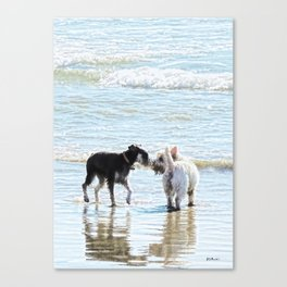 Sweet Meet Canvas Print